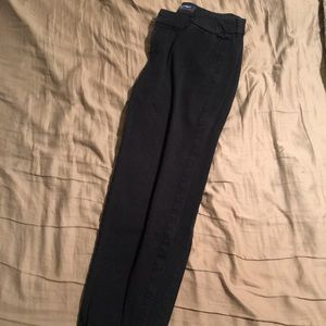 """SIZE 8 OLD NAVY PIXIE CUT """"WORK MATERIAL"""" PANTS"""